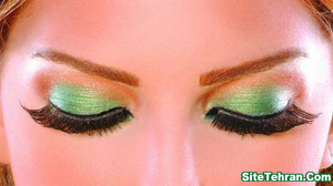 Green-eye-makeup-photo-sitetehran.com-01
