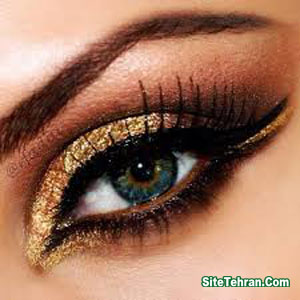 Shiny-gold-eye-makeup-sitetehran.com-03