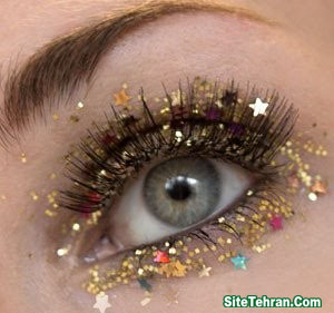 Shiny-gold-eye-makeup-sitetehran.com-06
