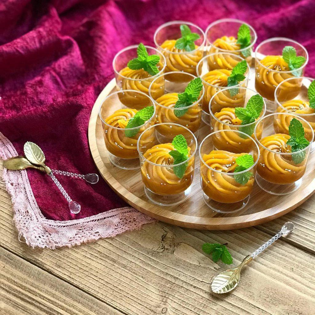 حلوای عربی با شیر خشک